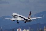 yabyanさんが、名古屋飛行場で撮影した三菱航空機 MRJ90STDの航空フォト(写真)