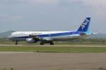 プルシアンブルーさんが、稚内空港で撮影した全日空 A321-131の航空フォト(写真)