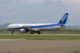 プルシアンブルーさんが、稚内空港で撮影した全日空 A321-131の航空フォト(飛行機 写真・画像)