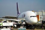うめやしきさんが、成田国際空港で撮影したタイ国際航空 A380-841の航空フォト(飛行機 写真・画像)