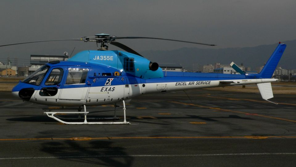 cathay451さんのエクセル航空 Eurocopter AS355 Ecureuil 2/TwinStar (JA355E) 航空フォト