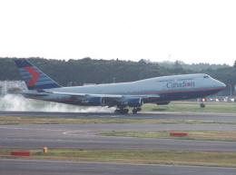 プルシアンブルーさんが、成田国際空港で撮影したカナディアン航空 747-475の航空フォト(飛行機 写真・画像)