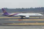 セブンさんが、成田国際空港で撮影したタイ国際航空 777-3AL/ERの航空フォト(飛行機 写真・画像)