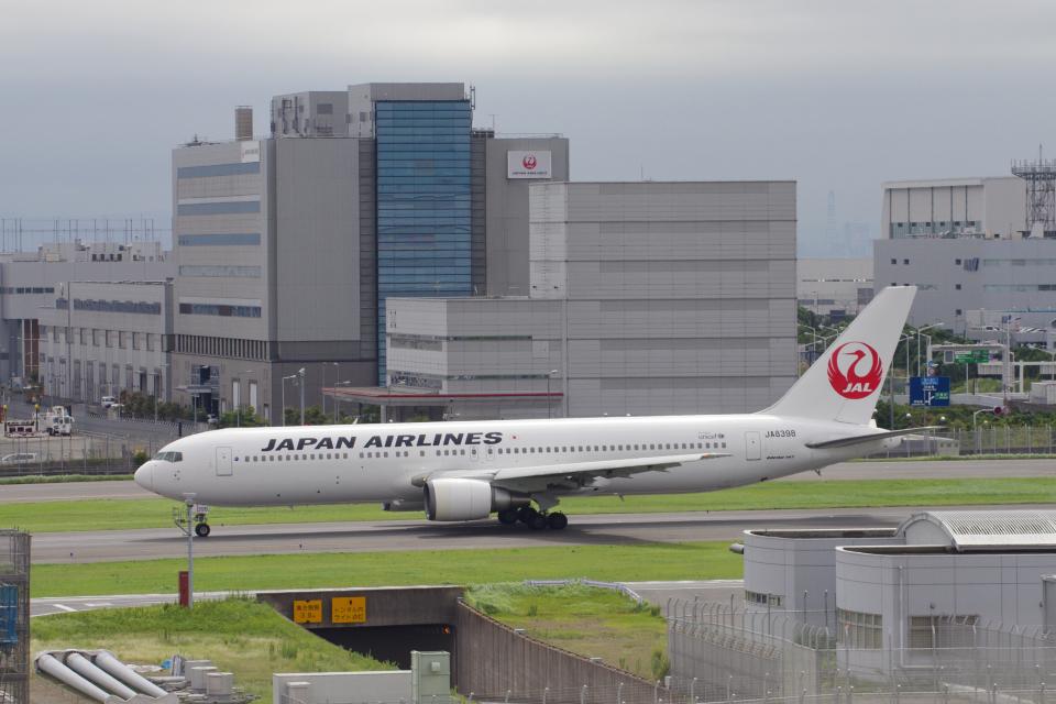 yabyanさんの日本航空 Boeing 767-300 (JA8398) 航空フォト