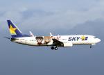 voyagerさんが、羽田空港で撮影したスカイマーク 737-86Nの航空フォト(飛行機 写真・画像)
