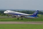 EXIA01さんが、中標津空港で撮影した全日空 A320-211の航空フォト(写真)