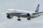 小弦さんが、バンクーバー国際空港で撮影した全日空 787-9の航空フォト(飛行機 写真・画像)
