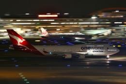 リリココさんが、羽田空港で撮影したカンタス航空 747-438/ERの航空フォト(飛行機 写真・画像)