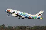 yabyanさんが、シェムリアップ国際空港で撮影したバンコクエアウェイズ A320-232の航空フォト(写真)