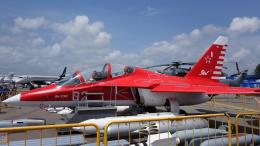 AE31Xさんが、シンガポール・チャンギ国際空港で撮影した Russia - Air Force Yak-130の航空フォト(飛行機 写真・画像)