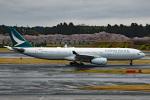 tsubasa0624さんが、成田国際空港で撮影したキャセイパシフィック航空 A330-343Xの航空フォト(写真)