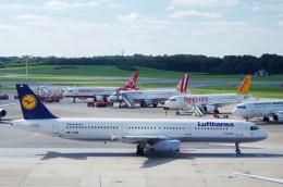 tasho0525さんが、ハンブルク空港で撮影したルフトハンザドイツ航空 A321-131の航空フォト(飛行機 写真・画像)