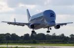 xiel0525さんが、ハンブルク・フィンケンヴェルダー空港 で撮影したエアバス・トランスポート・インターナショナル A300B4-608STの航空フォト(写真)