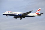 masa707さんが、ロンドン・シティ空港で撮影したBAシティフライヤー ERJ-190-100 SR (ERJ-190SR)の航空フォト(写真)