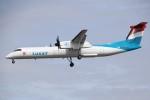 masa707さんが、ロンドン・シティ空港で撮影したルクスエア DHC-8-402Q Dash 8の航空フォト(写真)