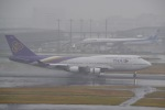 ヨッちゃんさんが、羽田空港で撮影したタイ国際航空 747-4D7の航空フォト(飛行機 写真・画像)