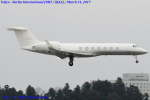 Chofu Spotter Ariaさんが、成田国際空港で撮影したロシア個人所有 G-V-SP Gulfstream G550の航空フォト(写真)