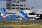 Chofu Spotter Ariaさんが、東京ヘリポートで撮影したオールニッポンヘリコプター EC135T2の航空フォト(飛行機 写真・画像)