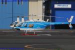 Chofu Spotter Ariaさんが、東京ヘリポートで撮影した中日本航空 206B JetRanger IIの航空フォト(飛行機 写真・画像)