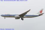 Chofu Spotter Ariaさんが、成田国際空港で撮影した中国国際航空 A330-343Eの航空フォト(飛行機 写真・画像)
