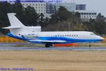 Chofu Spotter Ariaさんが、成田国際空港で撮影したアベログ・アビエーション - Abelag Aviation Falcon 7Xの航空フォト(飛行機 写真・画像)