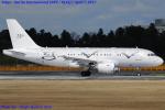 Chofu Spotter Ariaさんが、成田国際空港で撮影したグローバル・ジェット・ルクセンブルク A319-115CJの航空フォト(飛行機 写真・画像)