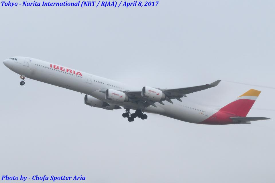 Chofu Spotter Ariaさんのイベリア航空 Airbus A340-600 (EC-KZI) 航空フォト