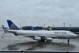 ジャコビさんが、成田国際空港で撮影したユナイテッド航空 747-422の航空フォト(飛行機 写真・画像)
