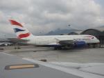 kayさんが、香港国際空港で撮影したブリティッシュ・エアウェイズ A380-841の航空フォト(写真)
