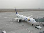 Rsaさんが、神戸空港で撮影したスカイマーク 767-3Q8/ERの航空フォト(写真)