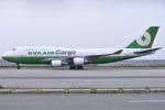 関西国際空港 - Kansai International Airport [KIX/RJBB]で撮影されたエバー航空 - Eva Airways [BR/EVA]の航空機写真