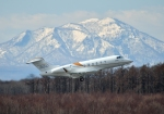 Cygnus00さんが、新千歳空港で撮影したボンバルディア・エアロスペース BD-100-1A10 Challenger 350の航空フォト(写真)