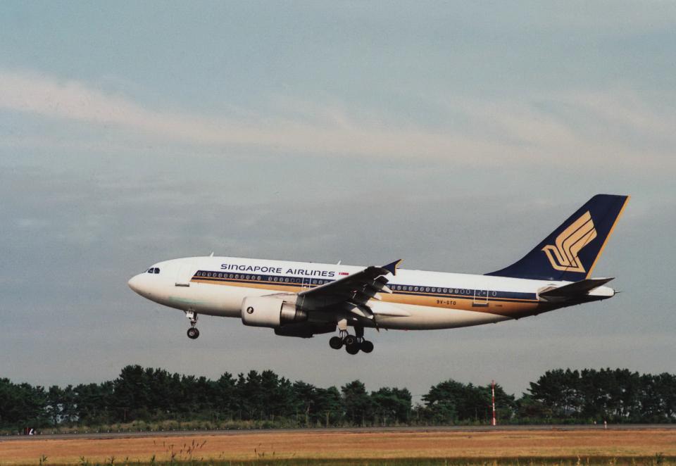 kumagorouさんのシンガポール航空 Airbus A310-300 (9V-STO) 航空フォト