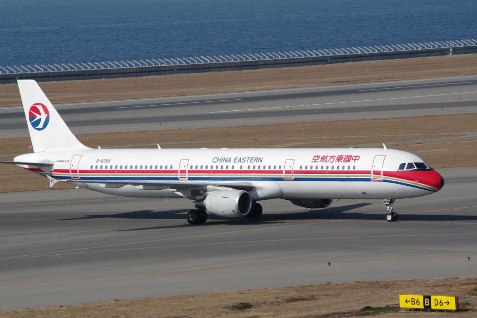 yabyanさんの中国東方航空 Airbus A321 (B-6369) 航空フォト