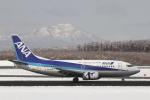 とらとらさんが、新千歳空港で撮影したANAウイングス 737-54Kの航空フォト(飛行機 写真・画像)
