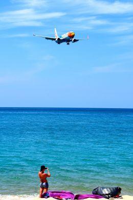 まいけるさんが、プーケット国際空港で撮影したノックエア 737-88Lの航空フォト(飛行機 写真・画像)