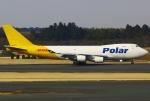 あしゅーさんが、成田国際空港で撮影したポーラーエアカーゴ 747-46NF/SCDの航空フォト(飛行機 写真・画像)