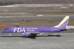 とらとらさんが、新千歳空港で撮影したフジドリームエアラインズ ERJ-170-200 (ERJ-175STD)の航空フォト(飛行機 写真・画像)