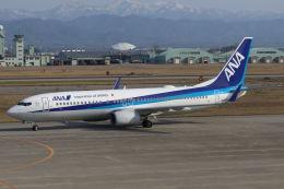 まんぼ しりうすさんが、小松空港で撮影した全日空 737-881の航空フォト(飛行機 写真・画像)