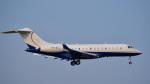 パンダさんが、成田国際空港で撮影したTAG エイビエーション・アジア BD-700-1A11 Global 5000の航空フォト(飛行機 写真・画像)