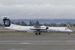Scotchさんが、シアトル タコマ国際空港で撮影したホライゾン航空 DHC-8-401Q Dash 8の航空フォト(飛行機 写真・画像)