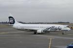 Scotchさんが、シアトル タコマ国際空港で撮影したアラスカ航空 737-4Q8の航空フォト(飛行機 写真・画像)