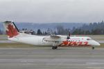 Scotchさんが、シアトル タコマ国際空港で撮影したエア・カナダ ジャズ DHC-8-311 Dash 8の航空フォト(写真)