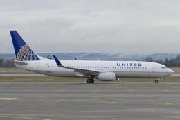 Scotchさんが、シアトル タコマ国際空港で撮影したユナイテッド航空 737-824の航空フォト(飛行機 写真・画像)