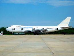 まいけるさんが、ピッサヌローク空港で撮影したオリエント・タイ航空 747-146の航空フォト(写真)