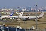 あしゅーさんが、羽田空港で撮影したロシア航空 Il-96-300の航空フォト(飛行機 写真・画像)