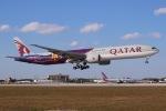 JRF spotterさんが、マイアミ国際空港で撮影したカタール航空 777-3DZ/ERの航空フォト(写真)