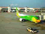 まいけるさんが、ドンムアン空港で撮影したノックエア 737-86Nの航空フォト(写真)