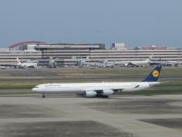 aquaさんが、羽田空港で撮影したルフトハンザドイツ航空 A340-642の航空フォト(写真)