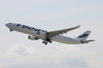 uhfxさんが、関西国際空港で撮影したフィンエアー A330-302Xの航空フォト(飛行機 写真・画像)